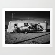 The Salton Masterpiece. Art Print