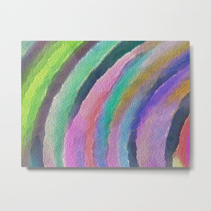 Color Arc Metal Print