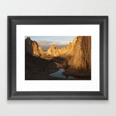 Smith Rock Sunrise I Framed Art Print