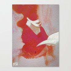 LeTTRiCeRoSSa Canvas Print