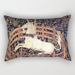 The Unicorn in Captivity Rectangular Pillow