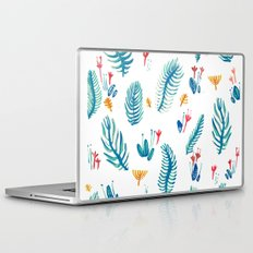 blue funny garden Laptop & iPad Skin