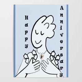 ASL Happy Anniversary! Poster