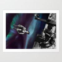 vertigo Art Prints featuring Vertigo by icontrive