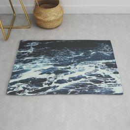 Dark Ocean Rug