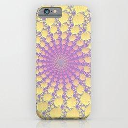 Pink Lemonade - Fractal Art  iPhone Case