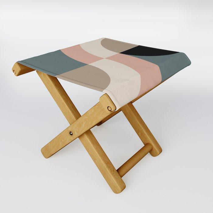 Contemporary Composition 33 Folding Stool