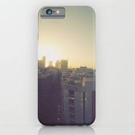 Sunrise on Dubai Skyline iPhone Case
