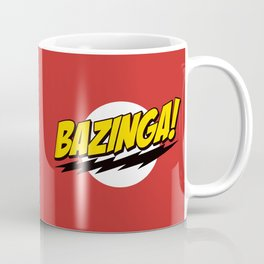 The Big Bang Theory - Bazinga  Coffee Mug