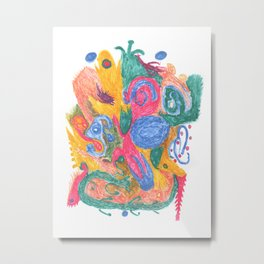 Drawing #126 Metal Print