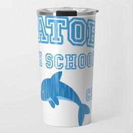 Iwatobi - Dolphin Travel Mug