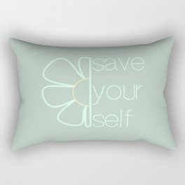 Save yourself Rectangular Pillow