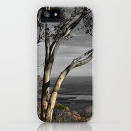 Major Mitchell Lookout Mount Macedon iPhone Case