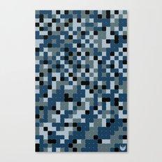 Pixelated Camo Alternate Canvas Print