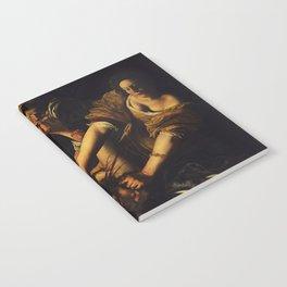 JUDITH BEHEADING HOLOFERNES - GENTILESCHI Notebook