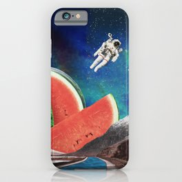 Watermelon Space iPhone Case