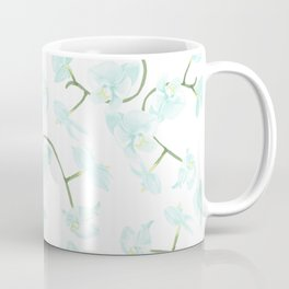 How delicate the orchid's eternal bloom Coffee Mug