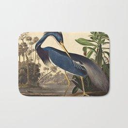 John James Audubon - Louisiana Heron Bath Mat