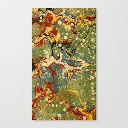 Marbled Paper – Muted Canvas Print