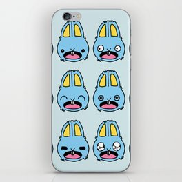 Bunny Emotions iPhone Skin