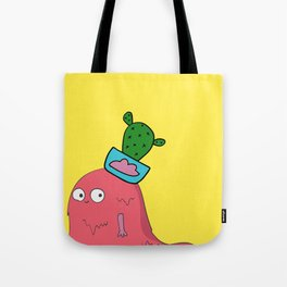 Beauty Queen Monster Tote Bag