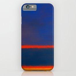 Rothko Inspired #7 iPhone Case