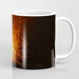 Golden Firework Coffee Mug