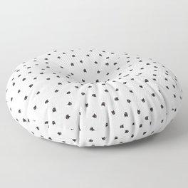 Black Cats Polka Dot Floor Pillow