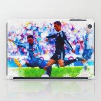 ronaldo iPad Cases featuring The Buzz from Cristiano Ronaldo by Don Kuing