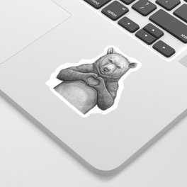 Bear with love Sticker