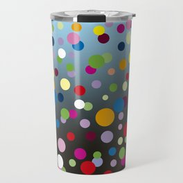 Multi-colored bubbles Travel Mug