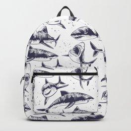 Sharks Pattern VI Backpack