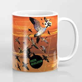 fly high: green revolution Coffee Mug