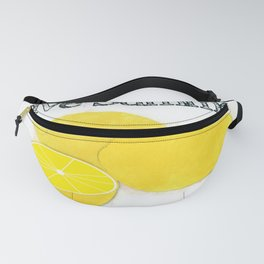Live Summer-Lemons Fanny Pack