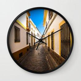Córdoba Streets Wall Clock
