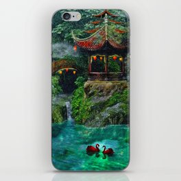 Tale of the Red Swans iPhone Skin