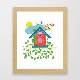 Going Cuckoo Framed Art Print