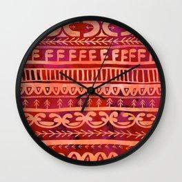 Noni- Orange Wall Clock