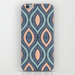 Hand Drawn Ornamental Abstract Shapes iPhone Skin