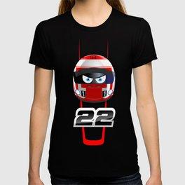 Jenson BUTTON_2014_Helmet #22 T-shirt