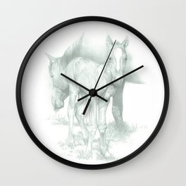 """THE YEARLING"" Wall Clock"
