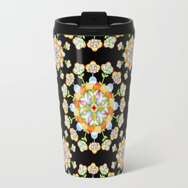 Jaipur Blossom Mandala Travel Mug
