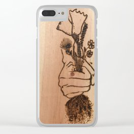 Weeding Clear iPhone Case
