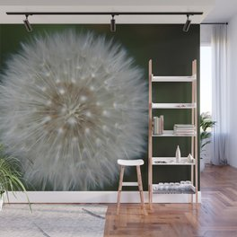 Dandelion Seed Wishes - Fluid Nature Garden Photography Wall Mural