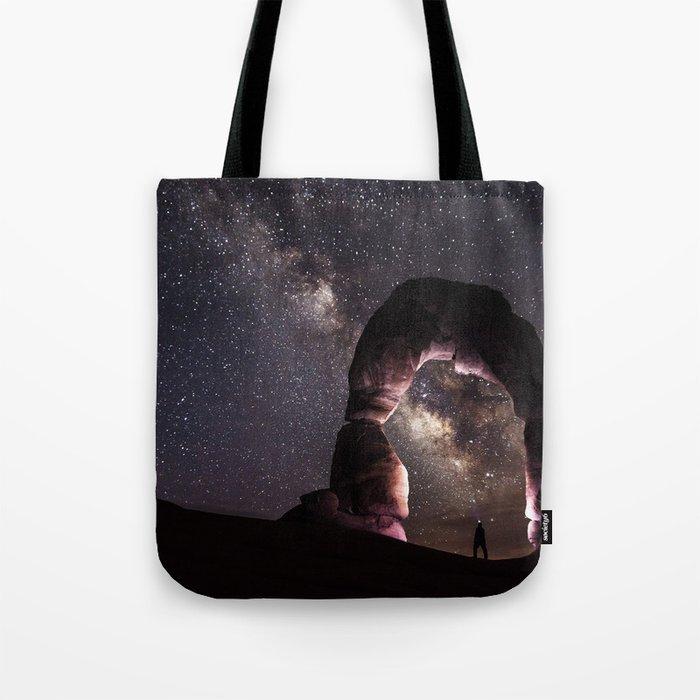 Watching stars Tote Bag