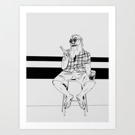 Hoppy Art Print