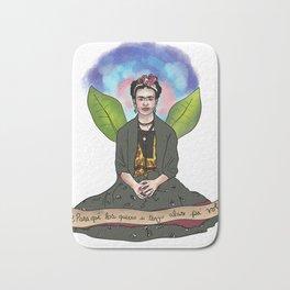 Frida Khalo - Alas para volar Bath Mat