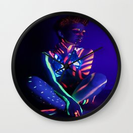 Electric Girl Wall Clock