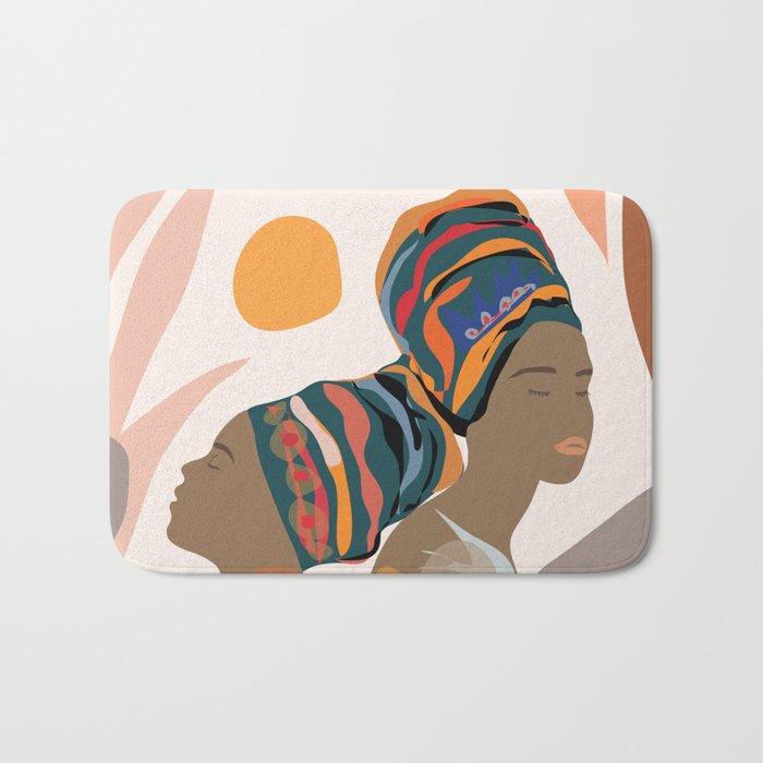 Women with the Turbans Bath Mat