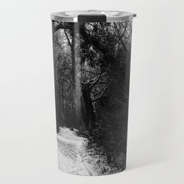 Winter in the forest Travel Mug